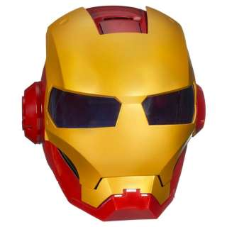 Iron Man Helmet accessory includes three interactive modes. View