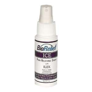 Bio Relief Ice Pain Relieving Spray   2 oz  Sports