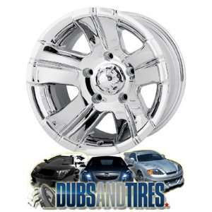 17 Inch 17x8 Ion Alloy wheels STYLE 138 Chrome wheels rims
