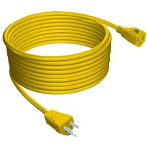 Stanley 33807 Yellow Outdoor Extension Cord, 80 Foot