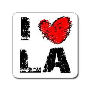 I Love Heart LA   LOUISIANA   Window Bumper Laptop Sticker