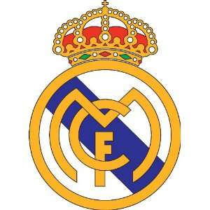 Real Madrid FC & Spain Flag sticker vinyl decal