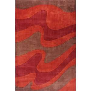 Hand Tufted New Wave Contemporary Wool Area Rug 2.60 x 14
