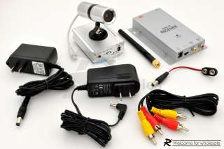 4Ghz 500mW Wireless Color CMOS CCTV Spy Color Camera