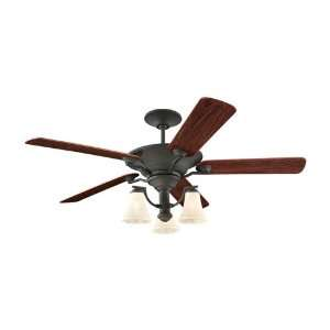 Sea Gull Lighting 15170B 839 Somerton 3 Light Indoor Ceiling Fans in
