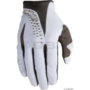 Fly Racing Youth Lite Race Glove   4/White/Black Automotive