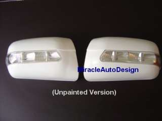 LED Unpainted Door Mirror Cover Mercedes W210 W202 W140