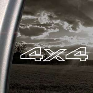 4X4 Offroad Decal Car Truck Bumper Window Sticker