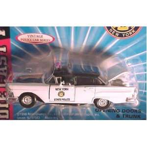 Road Champs 1/43 Scale Diecast Police Series State of New