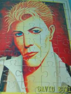 DAVID BOWIE ROLLING STONE MAG. ART ROCK PUZZLE JIGSAW SEALED PACK