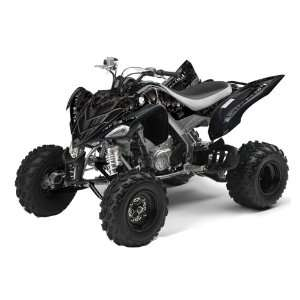 Yamaha Raptor 700 ATV Quad Graphic Kit   Reaper Black Automotive