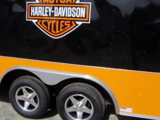 5x16 enclosed motorcycle cargo car hauler trailer Harley Davidson DC