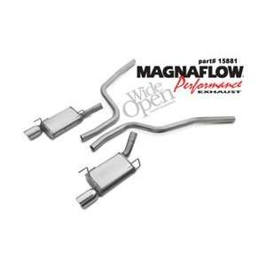 MagnaFlow Cat Back Exhaust System, for the 2005 Ford Mustang