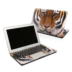 Siberian Tiger Design Skin Decal Sticker for Apple MacBook