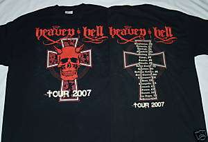 HEAVEN AND HELL Black Sabbath OFFICIAL Med T SHIRT New