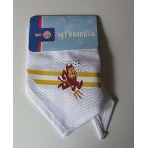 Arizona State Sun Devils Pet Dog Football Jersey Bandana S