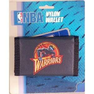 Golden State Warriors NBA Licensed Nylon Trifold Wallet