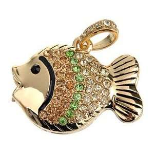 4G U Disk Fish Design USB Flash Memory Drive with