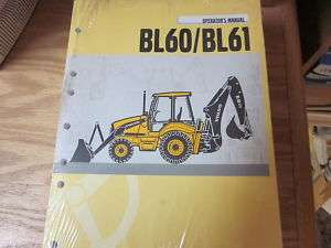 Volvo BL60 BL61 Backhoe Loader Operators Manual