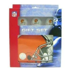 Cleveland Browns Golf Gift Box Set