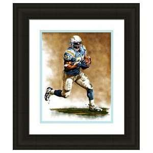 Framed Large LaDainian Tomlinson San Diego Chargers Giclee