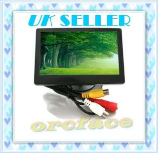 inch Wide TFT LCD Car Rearview Camera Bluetooth Screen Colour
