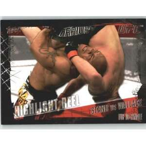 Topps UFC Trading Card # 182 Brian Stann vs Rodney Wallace (Ultimate