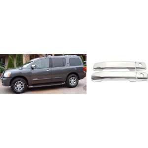 Nissan Frontier/Pathfinder Door Handle Covers   Chrome, Front 05 6 7