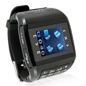 Dual Sim Card Dual Standby Unlocked Watch Cell Phone