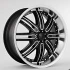 22 RIMS AND TIRES CHRYSLER FORD CHEVY BLACK WHEELS 112