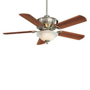 52 Minka Aire Bolo Brushed Nickel Swirl Light Ceiling Fan