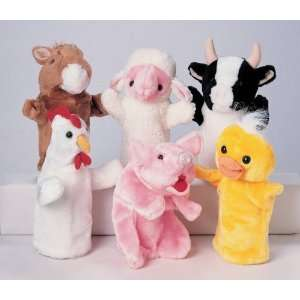 Marvel Education Co Farm Animal Hand Puppet   Cow   11