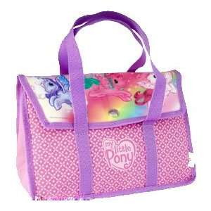 My Little Pony Girls Soft Lunchbox Lunch Tote Bag Pink & Purple