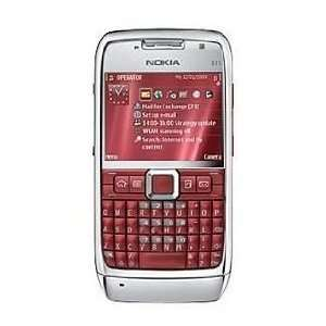Nokia E71 Unlocked Phone (RED) with 3.2 MP Camera, 3G