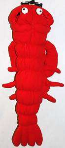RED LOBSTER MEDIUM DOG COSTUME Pet Halloween Canine