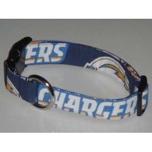 NFL San Diego Chargers Football Dog Collar Style 1 Medium