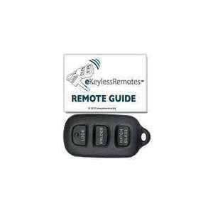 2003 2008 Pontiac Vibe Keyless Entry Remote Fob Clicker With Free Do