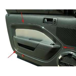 American Car Craft 271008 Ford Mustang Chrome Vinyl Door