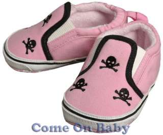 New Infant Girls Toddler Baby Skeleton Shoes 0 6m 6 12m