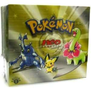 Pokemon Trading Card Game Neo 1 Genesis Booster Box Toys & Games