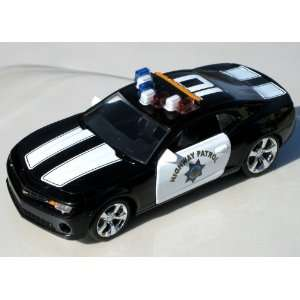 Jada 1/32 Highway Patrol 2010 Chevy Camaro Police Car Toys & Games