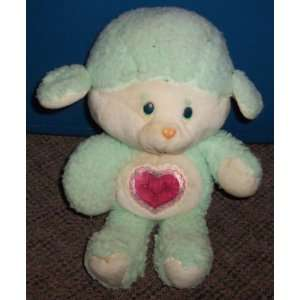 1984 Kenner Care Bears 13 Plush Gentle Heart Lamb