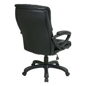 Black Glove Soft Leather Office Desk Chairs EX6710