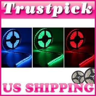 IP65 WaterProof 5M 5050 RGB 300 SMD LED Light Strip 60 LED/M DIY Home