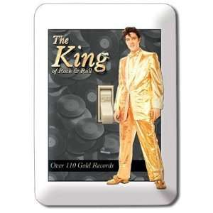 (4x5) Elvis Presley The King Light Switch Plate