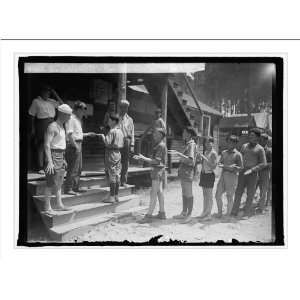 Historic Print (L) Boys Scouts, Camp Roosevelt, 7/9/25