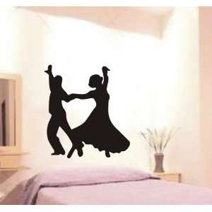 Large  Easy instant decoration wall sticker dance