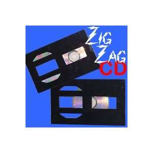 Zag CD Penetration Easy Magic Tricks Close Up Stage