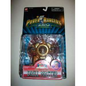 Power Rangers Zeo 1996 Evil Space Alien Drill Spinning