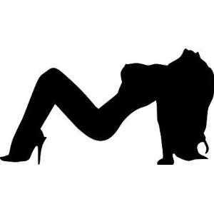 SEXY GIRL 1 , Vinyl Decal, Car or Truck, Mud Flap size 11